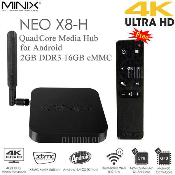 Minix Neo X8-H 4-rdzeniowy 4K Android 4.4 TV BOX WiFi + Pilot za ok. 483 zł @ GearBest