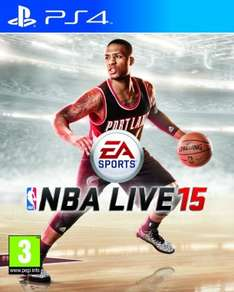 NBA Live 15 (PS4) za ok. 47zł @ GameSeek