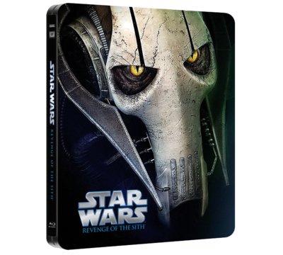 Gwiezdne Wojny: Część III - Zemsta Sithów (Steelbook Blu-ray) za 39,99zł @ Media Markt