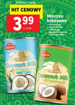 Mleczko kokosowe 400ml za 3,99zł @ Lidl
