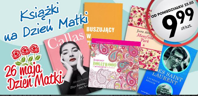 Ksiązki na Dzień Matki za 9,99zł (J.Austen, P.Coelho, S.King i in.)@ Biedronka