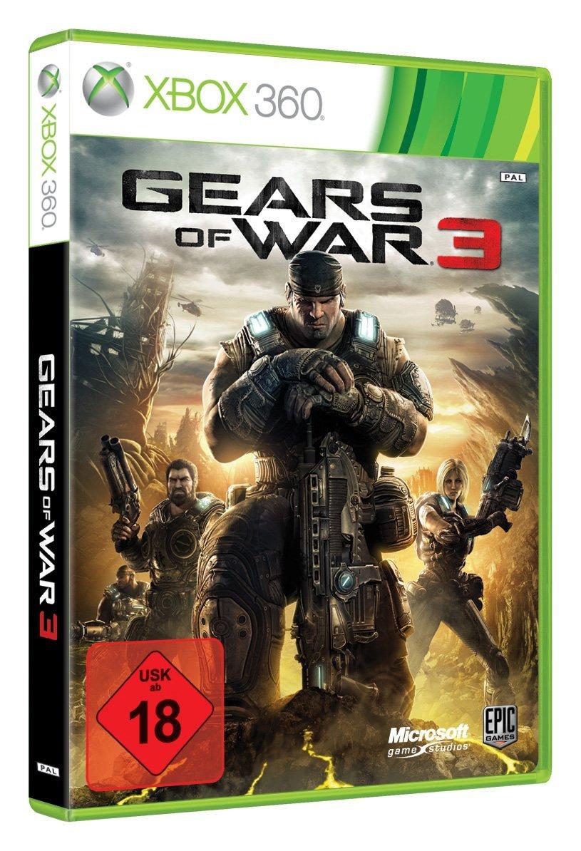 Gears of War 3 [Xbox 360] za 30zł @ Amazon.de