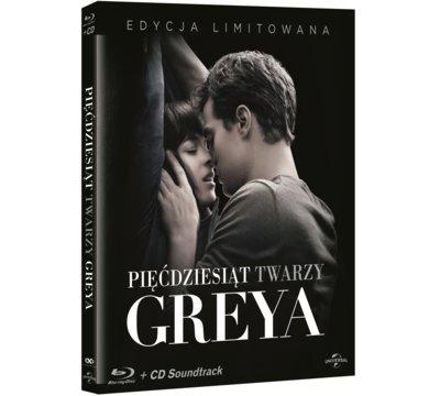 Pięćdziesiąt twarzy Greya (Blu-ray) + CD Soundtrack za 59,90zł @ Media Markt