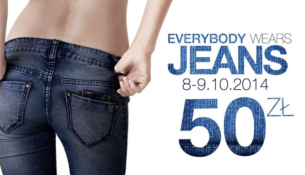 Dżinsy damskie za 50zł (duży wybór) tylko DO JUTRA @ Butik