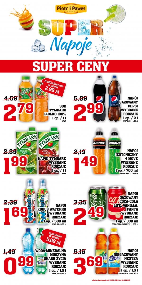 2L Pepsi (różne rodzaje) za 2,99zł @ Piotr i Paweł
