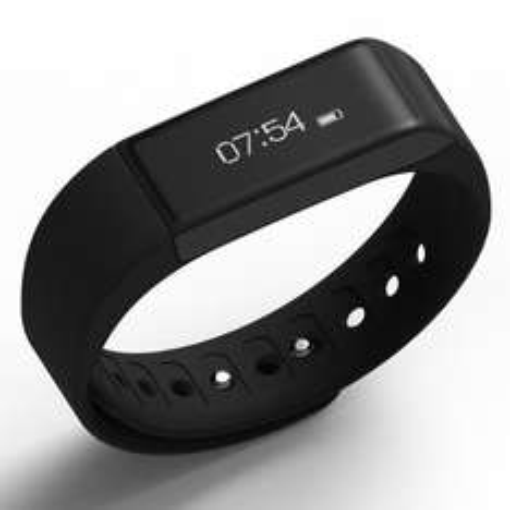 "iWOWN i5 Plus Smart Bracelet Wristband 0.91"" OLED Screen Bluetooth 4.0 Waterproof IP65 Sports Wrist Sleep"