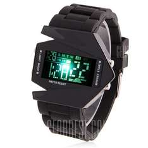 Skmei 0817 Męski zegarek z wyświetlaczem LED i nowoczesnym wyglądem - GearBest