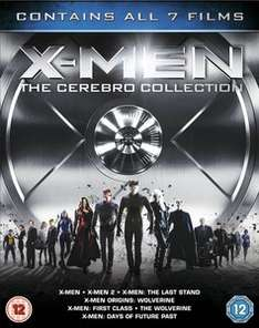 X-Men: The Cerebro Collection na Blu-ray - wszystkie 7 filmów