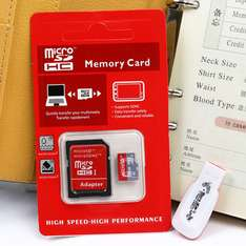 (Tylko jutro!!!) Karta SDHC 64GB + Adapter + Czytnik Kart USB 2.0 @ AliExpress