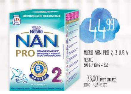 Mleko Nestle NAN 800g za 33zł (przy zakupie 2 sztuk) @ POLO Market