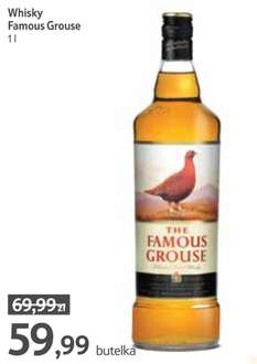 Whisky Famous Grouse 1L @ Tesco (czerwiec)
