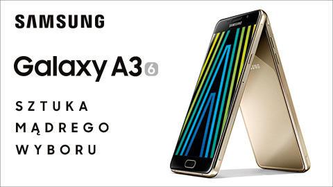 Samsung Galaxy A3 2016 biały lub czarny (A310F) komputronik