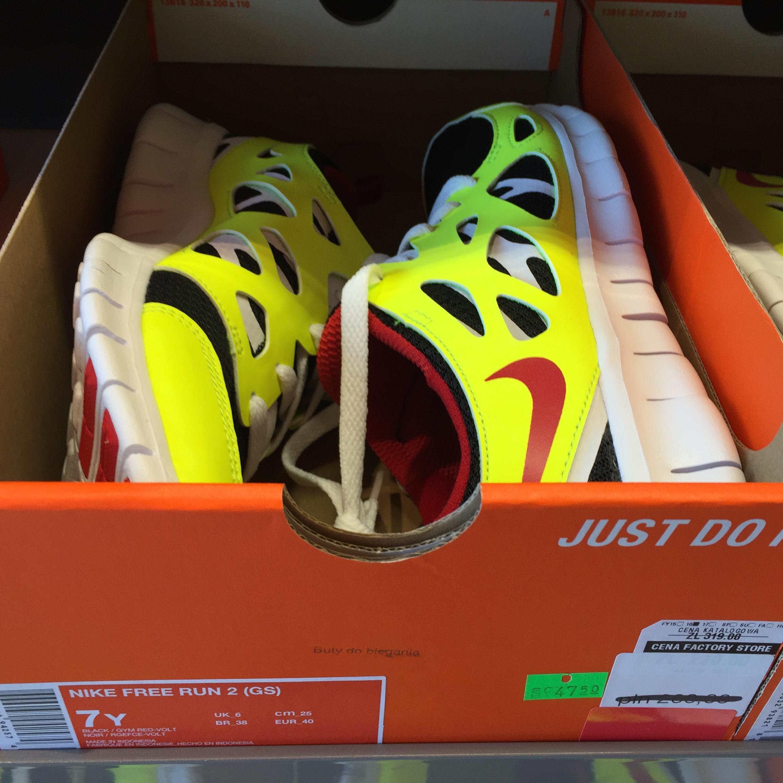 Nike Free Run II 85% taniej Outlet Nike Szczecin