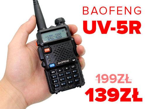 Radiotelefon Baofeng UV-5R 5W