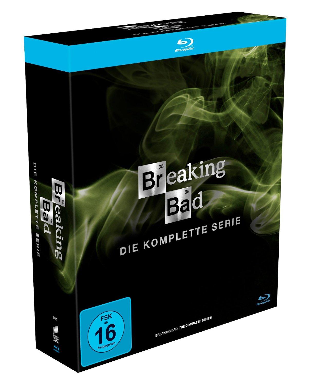 Breaking Bad (kompletna seria) na Blu-Ray za ok. 259zł @ Amazon.de