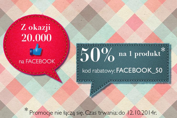50% na jeden produkt!! @ Kari