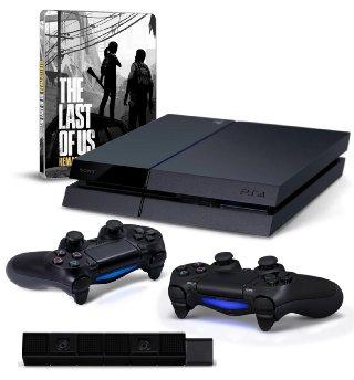 Playstation 4 + 2 pady + kamerka + The Last of Us za 1968zł z wysyłką!! @ Amazon