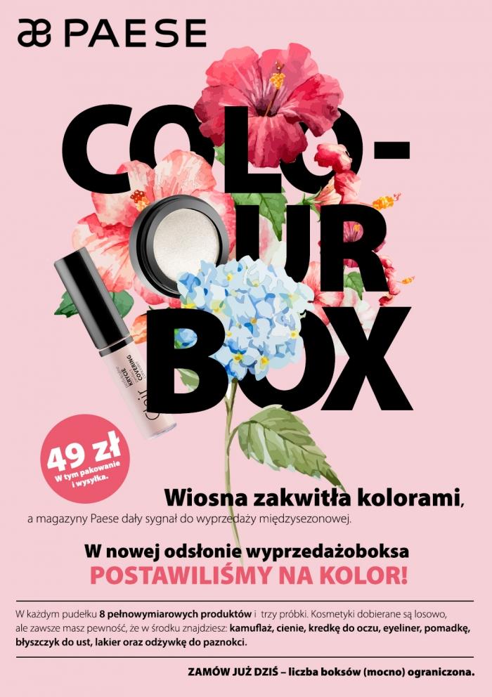 Wyprzedaż kosmetycznych box'ów (8 prod.) @ Paese