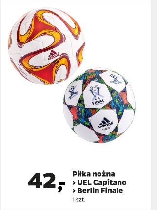 Piłka nożna ADIDAS (UEL Capitano/Berlin Finale) za 42zł! @ Netto