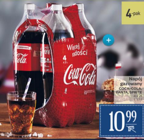 Coca-Cola lub jej rodzeństwo. Cena za litr 1,37zł !!!