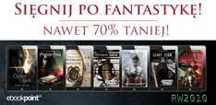 """""""Światy równoległe"""" i fantastyka do 70% taniej @ ebookpoint.pl"""