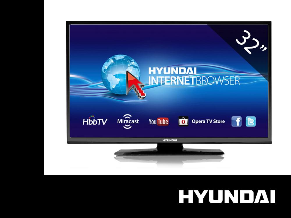 Telewizor LED 32'' Hyundai HL32211 SMART 100Hz USB