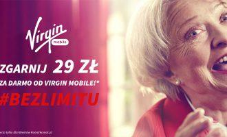 Zamów numer na kartę w Virgin Mobile #BEZLIMITU a dostaniesz doładowanie 29zł GRATIS @ Komórkomat