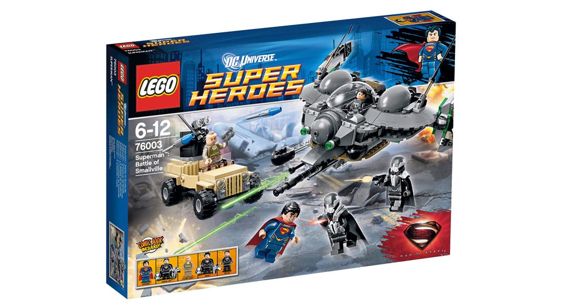 Lego (76003) Super Heroes Superman: Bitwa o Smallville za 100zł @ Satysfakcja