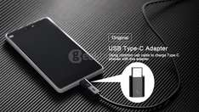 Adapter usb typ C => micro usb od Xiaomi za ok. 5,5zł