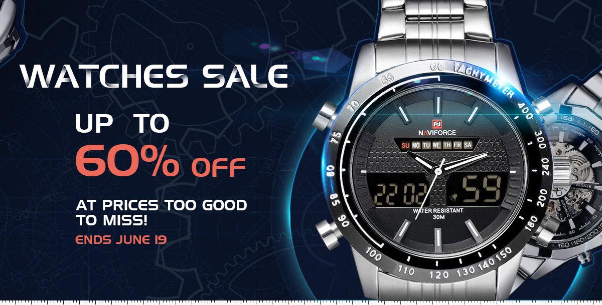 Przecenione zegarki do 60%