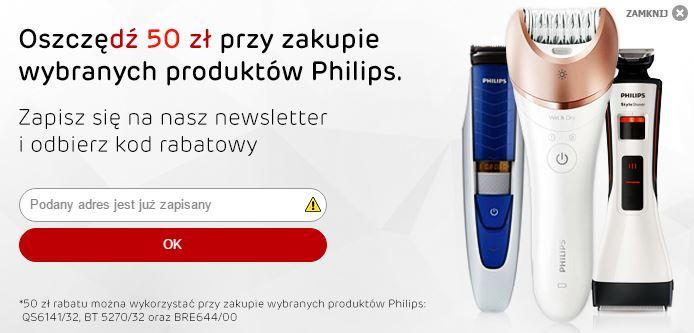 Depilator Philips BRE644/00, trymer BT 5270/32 oraz  StyleShaver 50zł taniej @ Satysfakcja