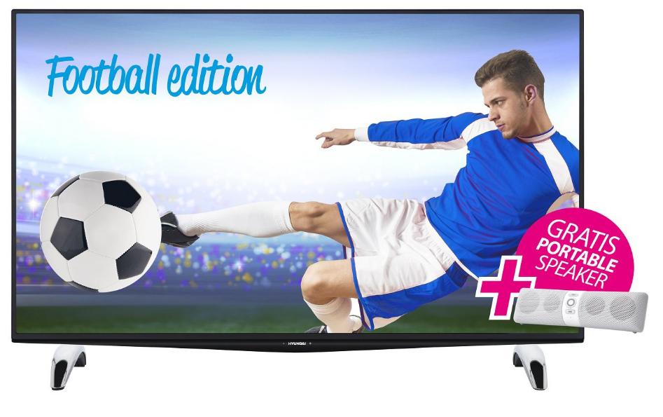 Telewizor Hyundai ULS4005FE (4K, 3D, SMART) + głośnik bluetooth GRATIS za 1499zł