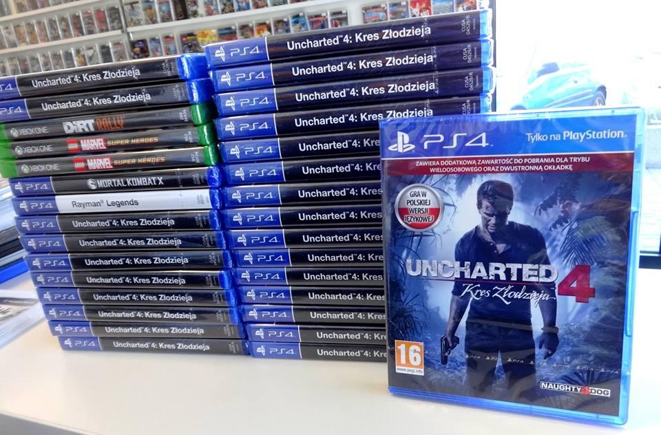 Uncharted 4 PL - najniższa cena w Polsce :) @ Ultra Games (Kraków)