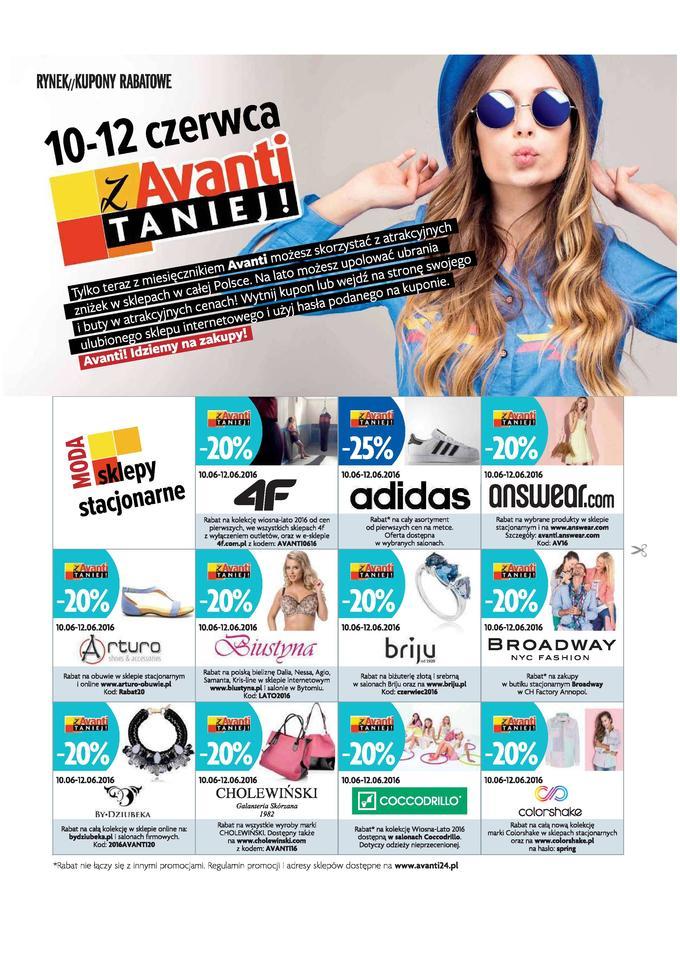 WEEKEND ZNIŻEK z Avanti, Logo i Wysokimi Obcasami - Wszystkie kupony!