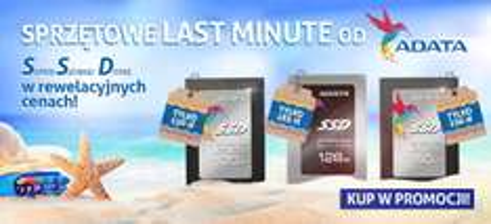 Dyski SSD AData w promocyjnych cenach @ morele