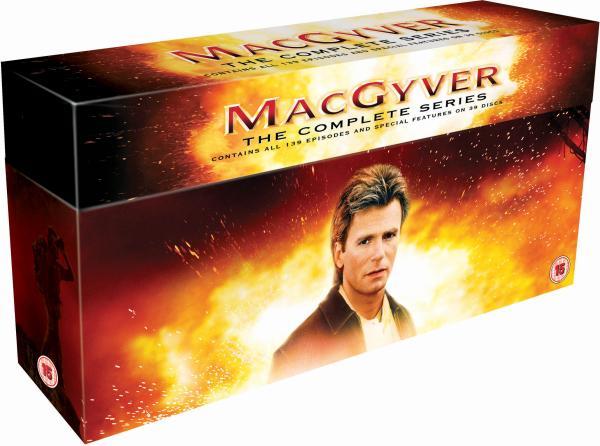 MacGyver - kompletna seria (39 płyt DVD) za ok. 166zł @ Zavvi