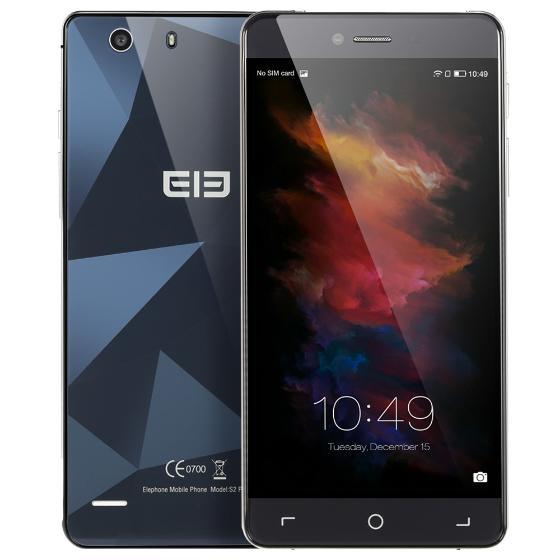"""Elephone S2 Plus 4G FDD-LTE MTK6735M 64-bit Quad Core Smartphone 2.5D 5.5"""" HD IPS Android 5.1 2G+16G 5MP 13MP(Wysyłka z Niemiec)"""