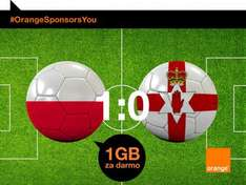 1GB za każdy gol Orange