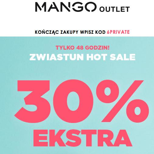 30% taniej w Mango Outlet