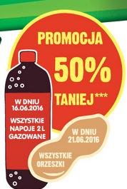 Wszystkie orzeszki taniej o 50% (21.06) @ Żabka