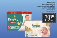 Pieluszki Pampers Premium Care Mega Box za 79,99zł @ Carrefour