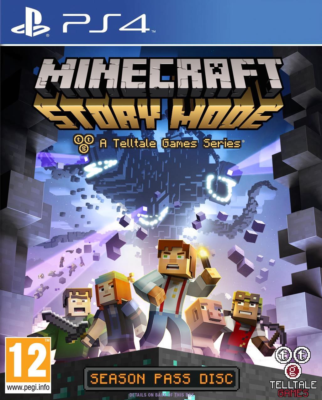 Minecraft Story Mode na PS4 za 80zł