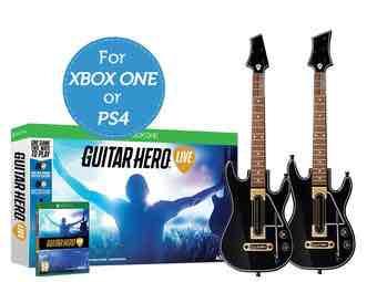 Guitar Hero Live + 2 gitary (XONE & PS4)