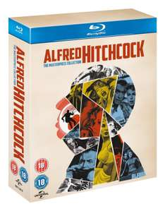 Alfred Hitchcock - The Masterpiece Collection (Blu-Ray) za ok. 160zł @ Amazon.uk