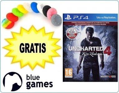 Uncharted 4 Kres Złodzieja Edycja D1 + DLC + nakładki na pady z darmowym inPost