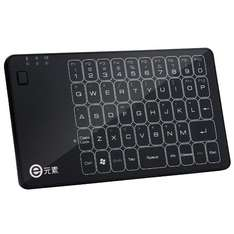 2.4GHz Wireless Touched Keyboard Mouse Touchpad 3 in 1 Combo Multi-touch