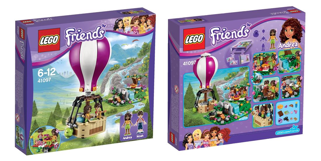 Klocki Lego Friends Balon w Heartlake za 64,90zł (ceny rynkowe zaczynają się od 90zł) @ Satysfakcja
