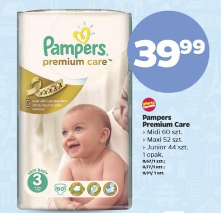 Pieluszki Pampers Premium Care za 39,99zł @ Netto