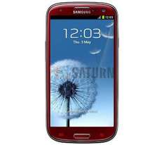 Samsung Galaxy S III (Garnet Red) za 849 zł @ Saturn