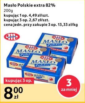 3 kostki masła za 8zł @ Tesco